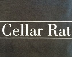 Cellar Rat T-shirt: Blue