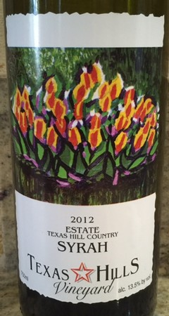 Syrah Estate 2012